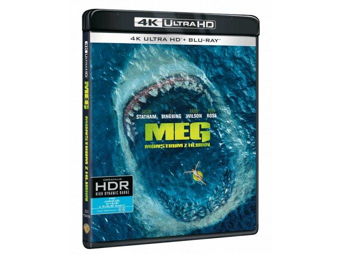Meg: Monstrum z hlubin (4k Ultra HD Blu-ray + Blu-ray)