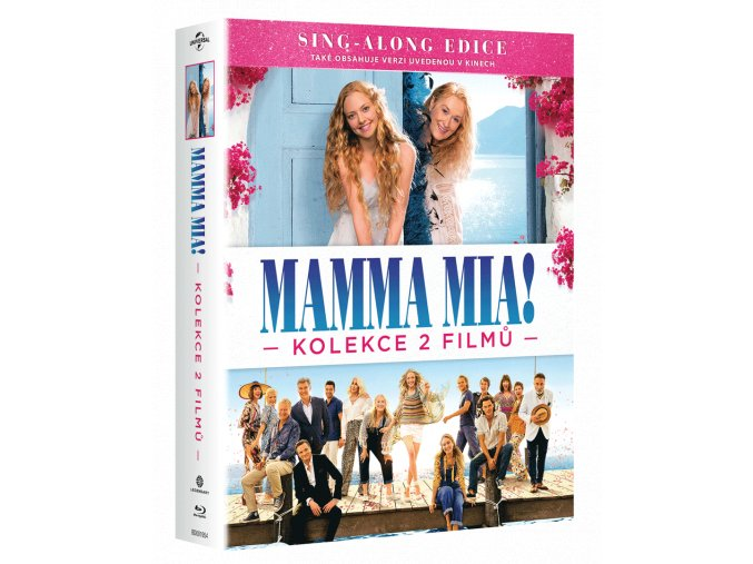 Mamma Mia! 1 a 2 (Kolekce, 2x Blu-ray)
