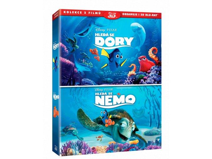 Hledá se Dory / Hledá se Nemo  (3D)