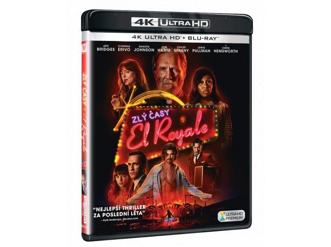 Zlý časy v El Royale (4k Ultra HD Blu-ray + Blu-ray)