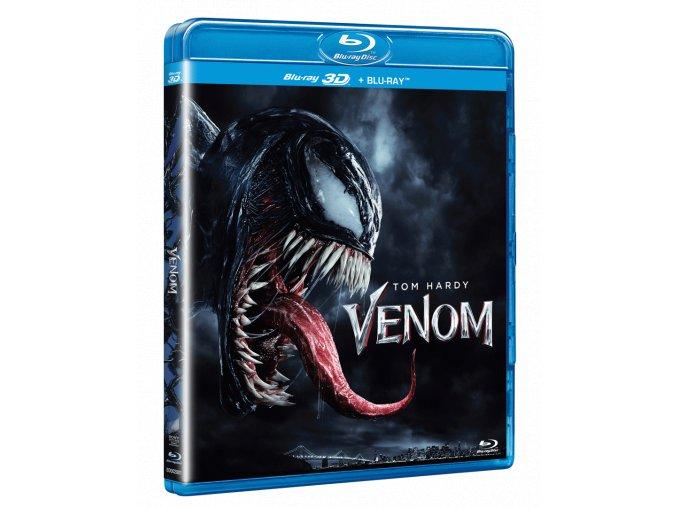 Venom (Blu-ray 3D + Blu-ray 2D)