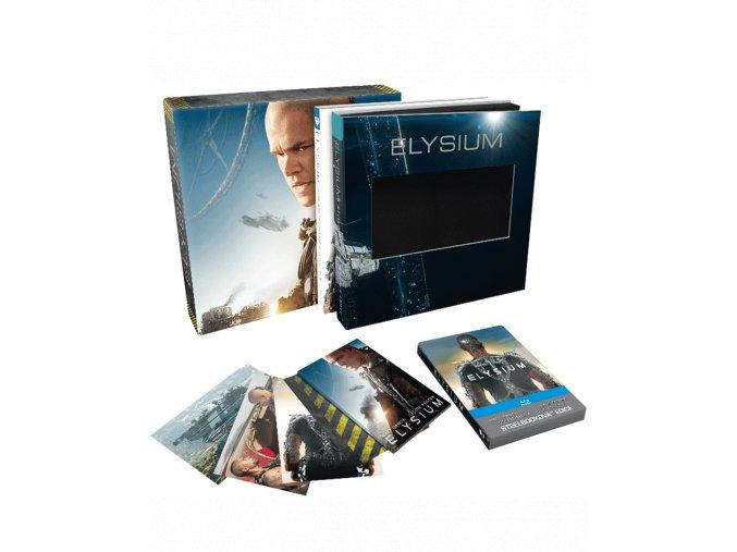 Elysium (Blu-ray, Sběratelská edice s knihou a steelbookem)