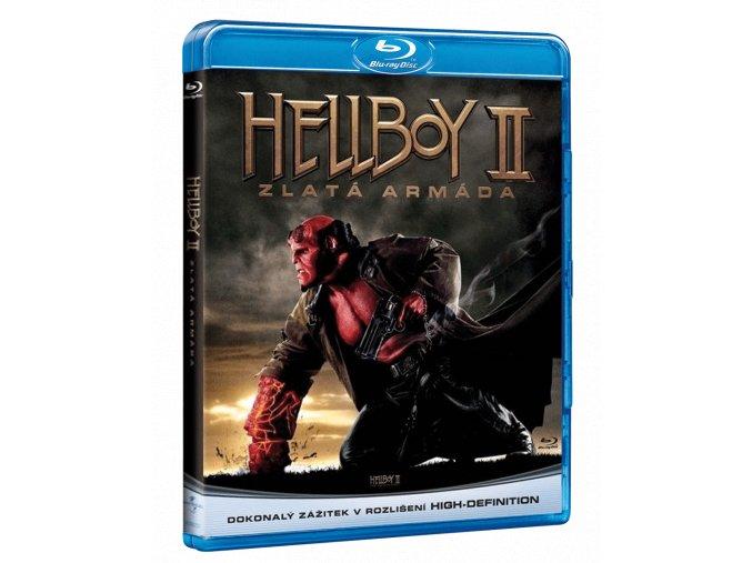 Hellboy 2: Zlatá armáda (Blu-ray)