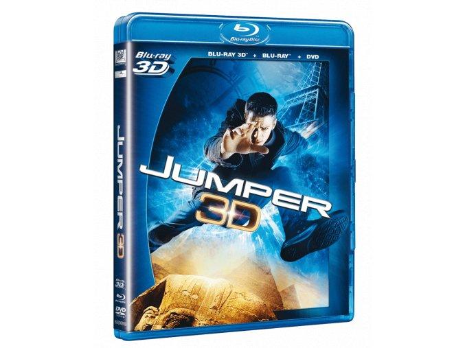 Jumper (Blu-ray 3D + Blu-ray 2D + DVD)