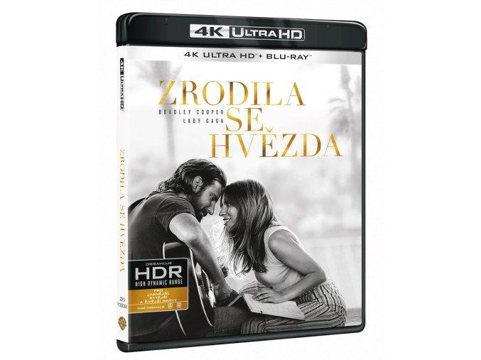 Zrodila se hvězda (4k Ultra HD Blu-ray + Blu-ray)