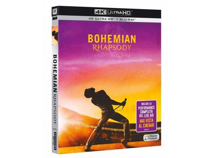 Bohemian Rhapsody (4k Ultra HD Blu-ray + Blu-ray)