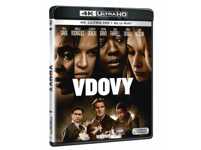 Vdovy (4k Ultra HD Blu-ray + Blu-ray)