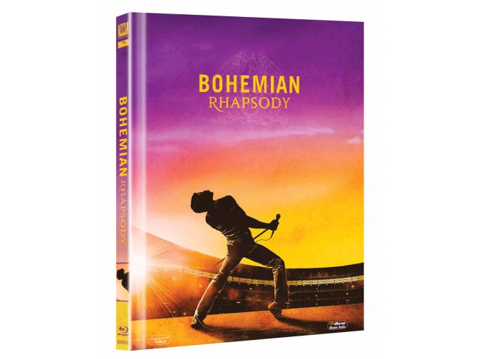 Bohemian Rhapsody (Blu-ray, digibook)