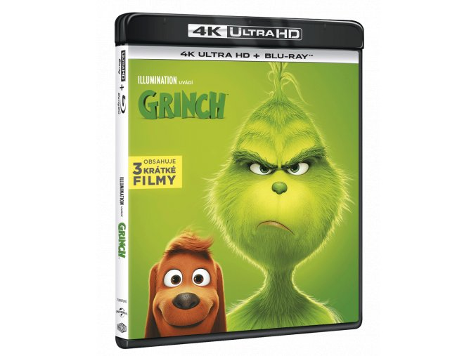 Grinch (2018, 4k Ultra HD Blu-ray + Blu-ray)