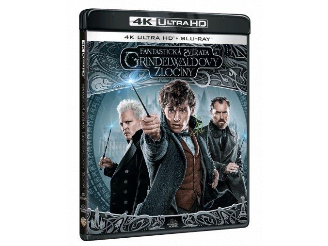 Fantastická zvířata: Grindelwaldovy zločiny (4k Ultra HD Blu-ray + Blu-ray)