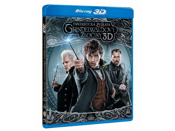 Fantastická zvířata: Grindelwaldovy zločiny (Blu-ray 3D + Blu-ray 2D)