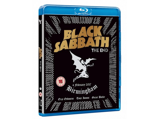 Black Sabbath: The End (Live in Birmingham, Blu-ray)