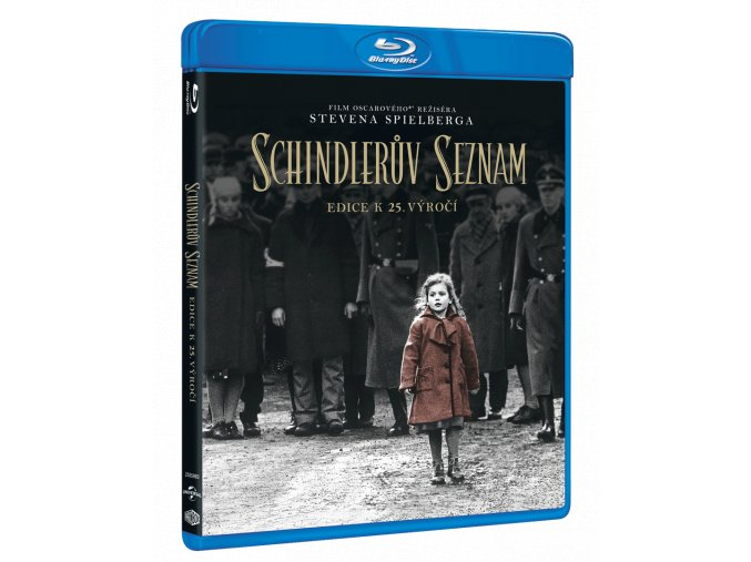 Schindlerův seznam (Blu-ray, 25. výročí)
