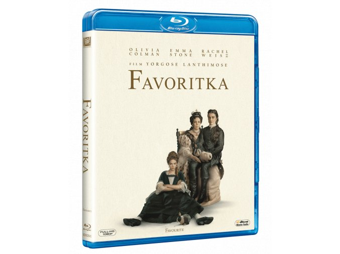 Favoritka (Blu-ray)