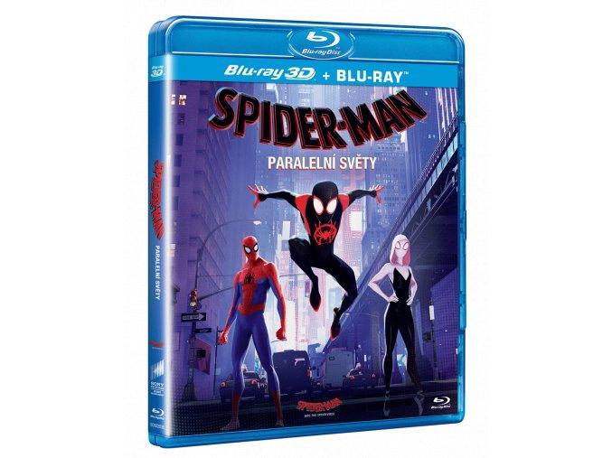 Spider-Man: Paralelní světy (Blu-ray 3D + Blu-ray 2D)
