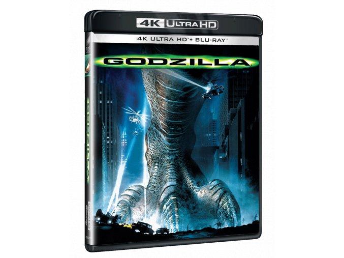 Godzilla (4k Ultra HD Blu-ray + Blu-ray)