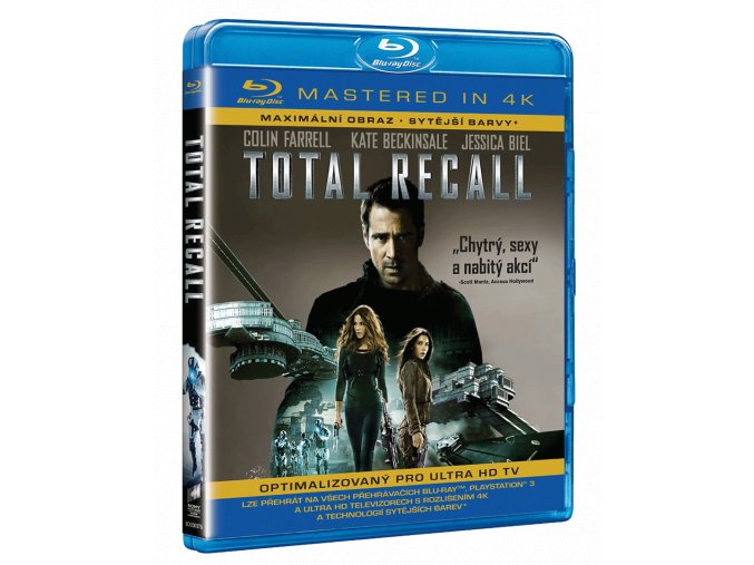 Total Recall (2012, Blu-ray, Masterováno ve 4k)