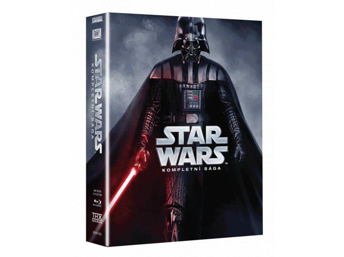 Star Wars Sága (Blu-ray kolekce)