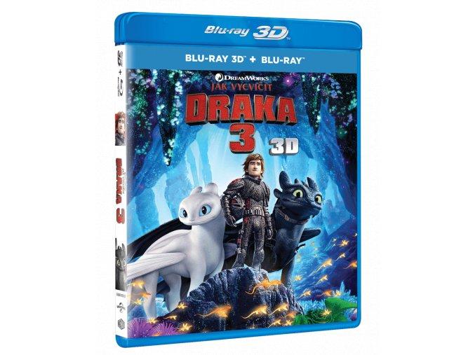 Jak vycvičit draka 3 (Blu-ray 3D + Blu-ray 2D)