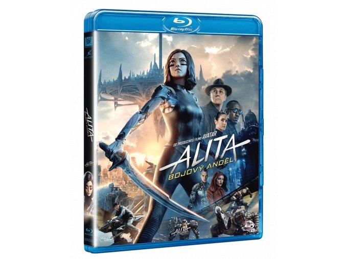 Alita: Bojový anděl (Blu-ray)