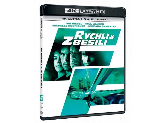 Rychlí a zběsilí (4k Ultra HD Blu-ray + Blu-ray)