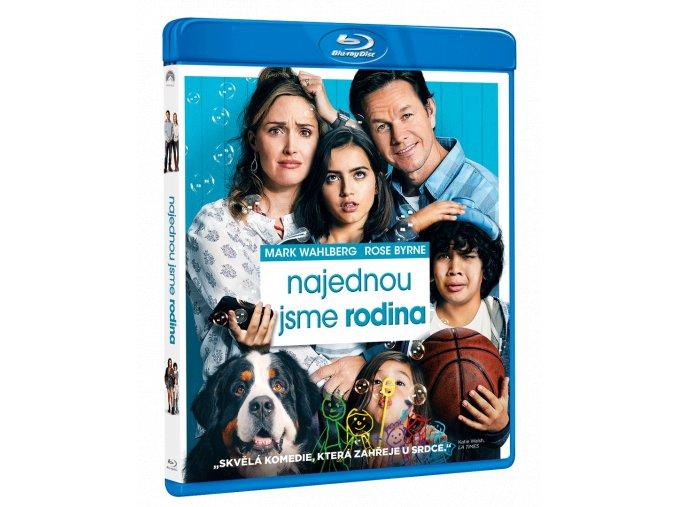 Najednou jsme rodina (Blu-ray)