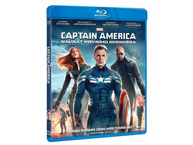 Captain America: Návrat prvního Avengera (Blu-ray)