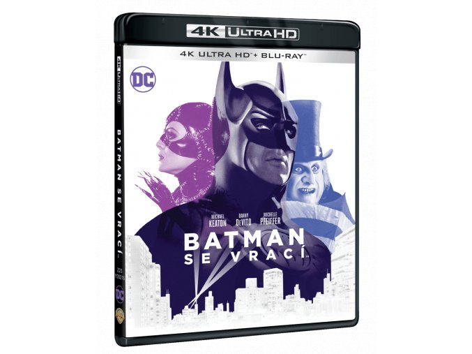 Batman se vrací (4k Ultra HD Blu-ray + Blu-ray)