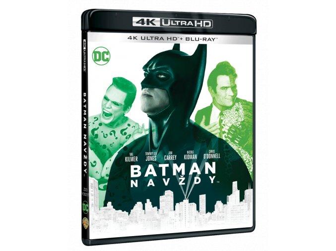 Batman navždy (4k Ultra HD Blu-ray + Blu-ray)