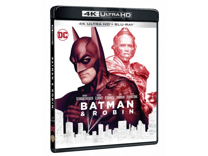 Batman a Robin (4k Ultra HD Blu-ray + Blu-ray)