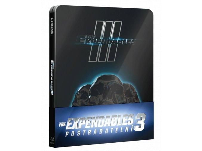 Expendables: Postradatelní 3 (Blu-ray, necenzurovaná verze, steelbook)