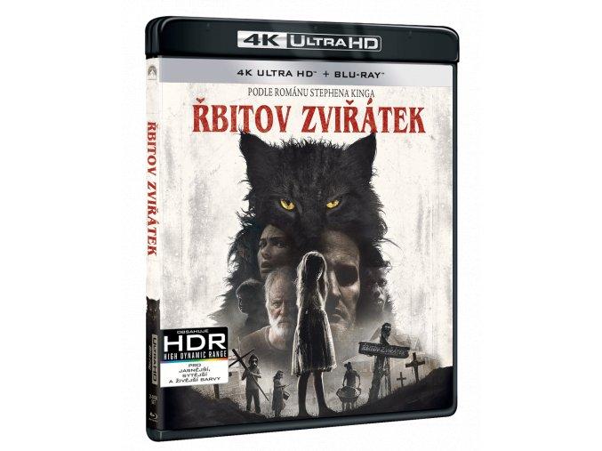 Řbitov zviřátek (4k Ultra HD Blu-ray + Blu-ray)