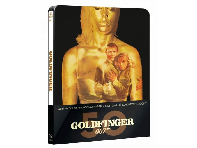 Goldfinger (Steelbook, Blu-ray)