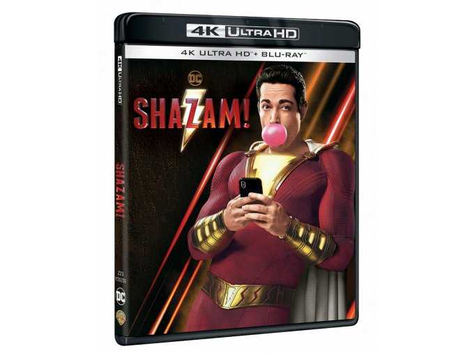 Shazam! (4k Ultra HD Blu-ray + Blu-ray)