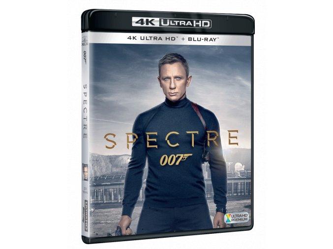 Spectre (James Bond, 4k Ultra HD Blu-ray + Blu-ray)