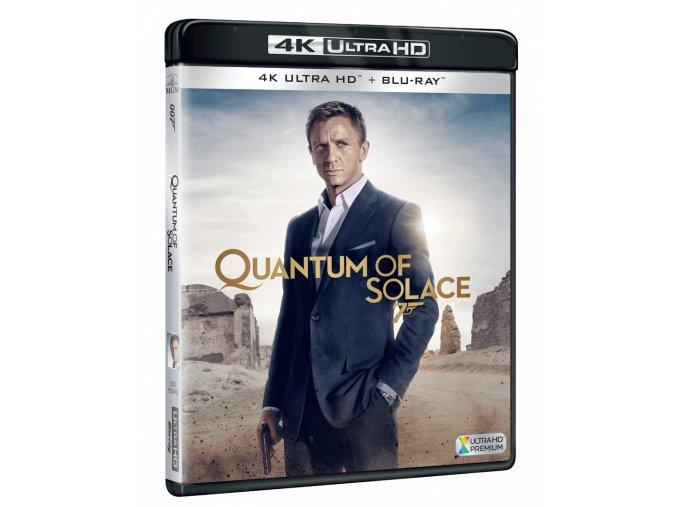 Quantum of Solace (James Bond, 4k Ultra HD Blu-ray + Blu-ray)