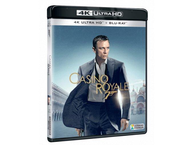 Casino Royale (James Bond, 4k Ultra HD Blu-ray + Blu-ray)