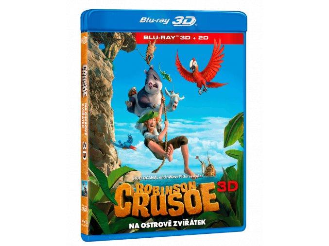 Robinson Crusoe: Na ostrově zvířátek  (3D)