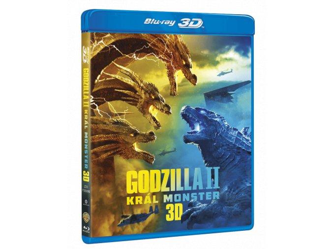 Godzilla II Král monster (Blu-ray 3D + Blu-ray)