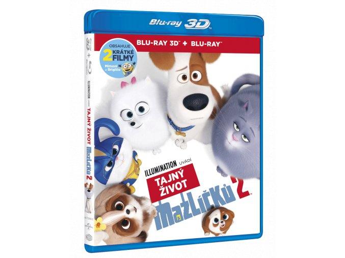 Tajný život mazlíčků 2 (Blu-ray 3D + Blu-ray 2D)