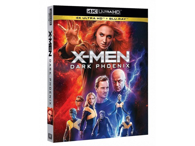 X-Men: Dark Phoenix (4k Ultra HD Blu-ray + Blu-ray)