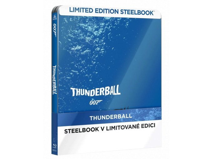 Thunderball (Steelbook, Blu-ray)