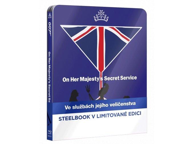 Ve službách Jejího Veličenstva (Steelbook, Blu-ray)
