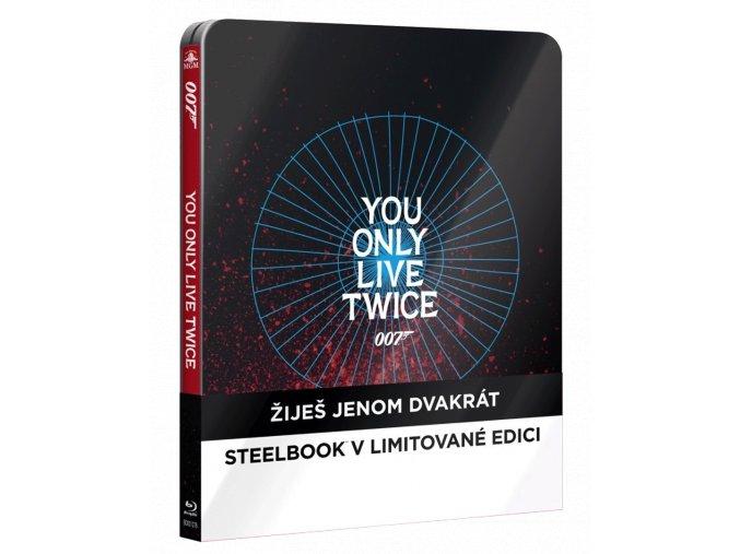 Žiješ jenom dvakrát (Steelbook, Blu-ray)