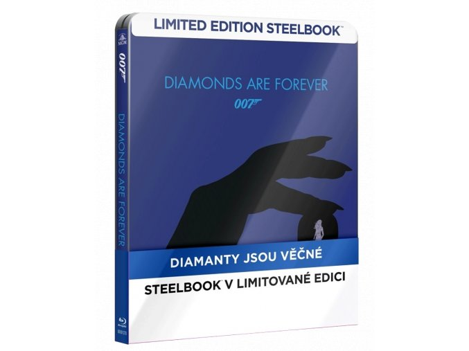 Diamanty jsou věčné (Steelbook, Blu-ray)
