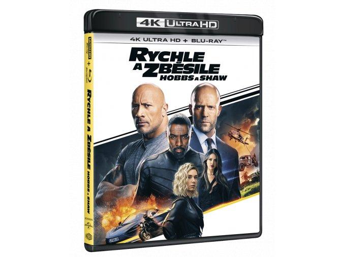 Rychle a zběsile: Hobbs a Shaw (4k Ultra HD Blu-ray + Blu-ray)