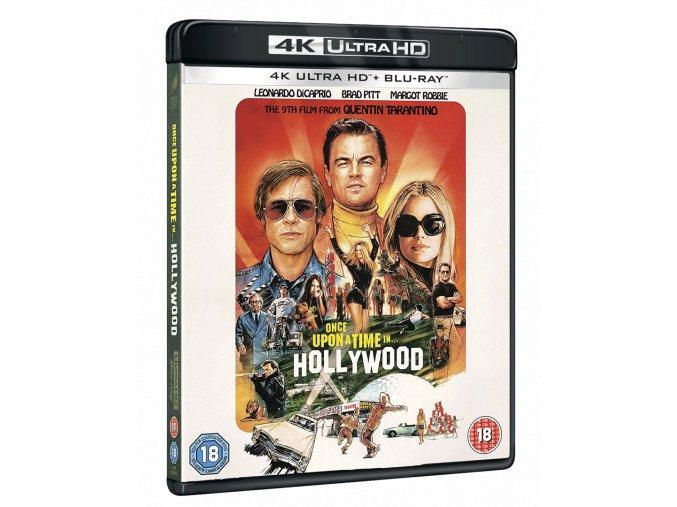 Tenkrát v Hollywoodu (4k Ultra HD Blu-ray + Blu-ray)
