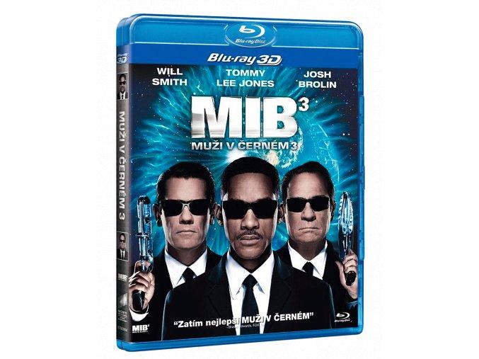 Muži v černém 3 (Blu-ray 3D + Blu-ray 2D)