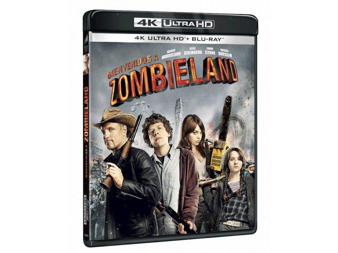 Zombieland (4k Ultra HD Blu-ray + Blu-ray)