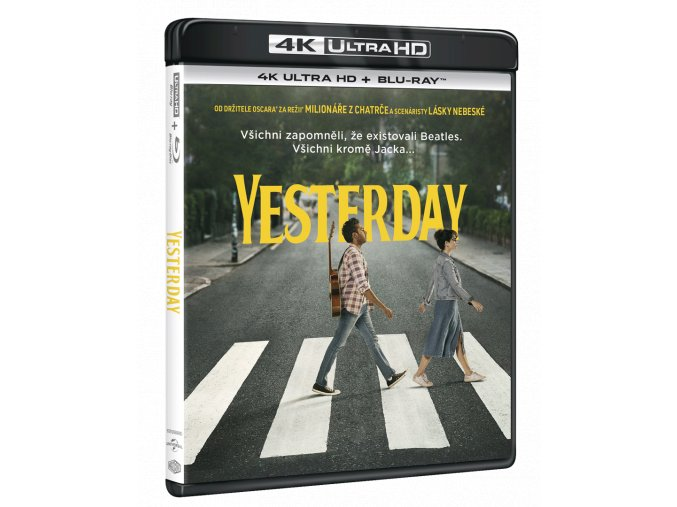 Yesterday (4k Ultra HD Blu-ray + Blu-ray)